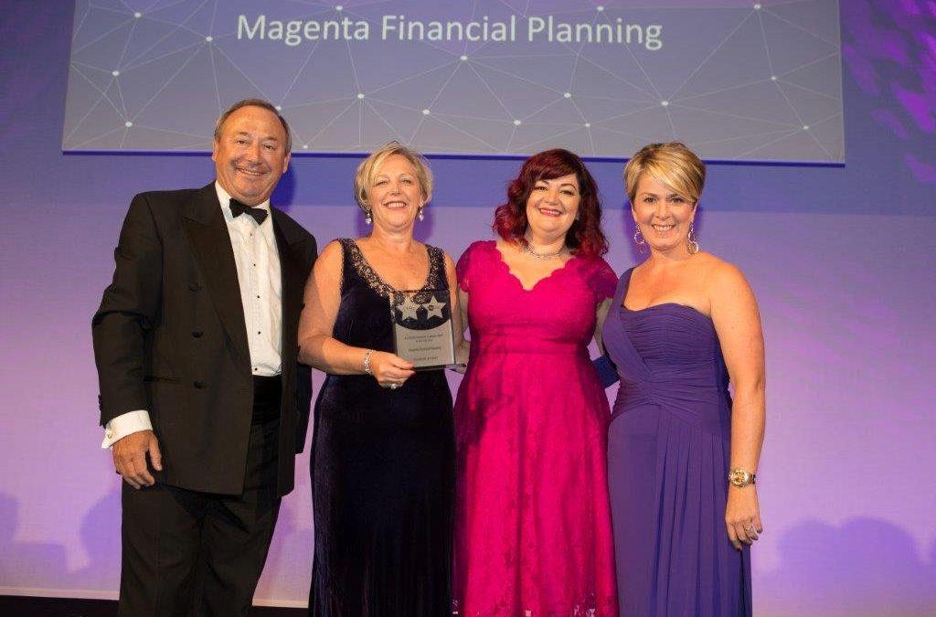Magenta awarded Accredited Financial Planning Firm of the year!