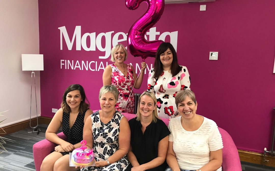 What an exciting week at Magenta!