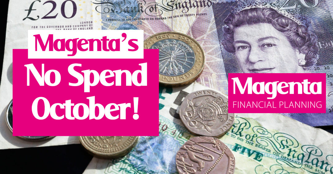 Introducing, No Spend October!