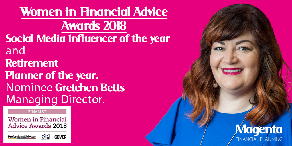 Gretchen women in finance award