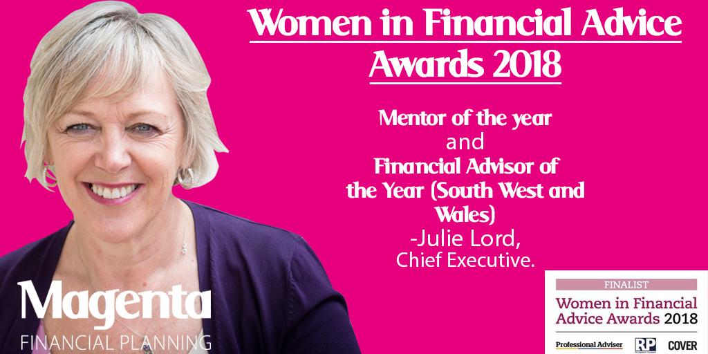 Julie women in finance award