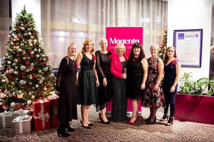 Magenta Christmas Party