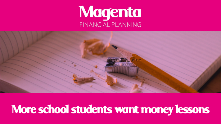 Survey: Young people wanting money lessons in school rises to 83%