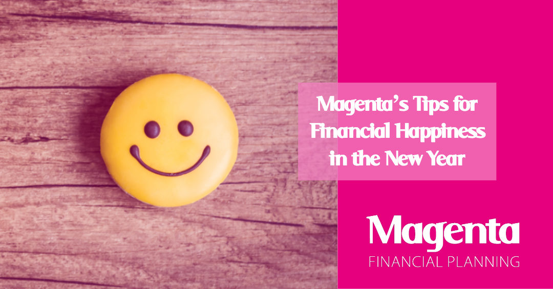 Magenta's Tips for Financial Happiness in the New Year