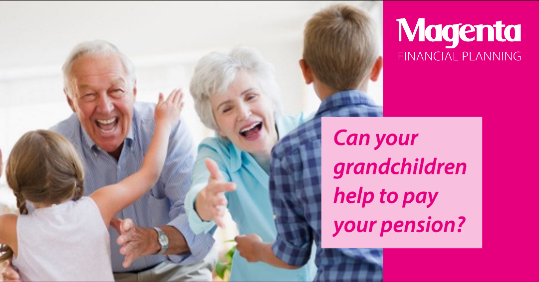 Can your grandchildren help to pay your pension?