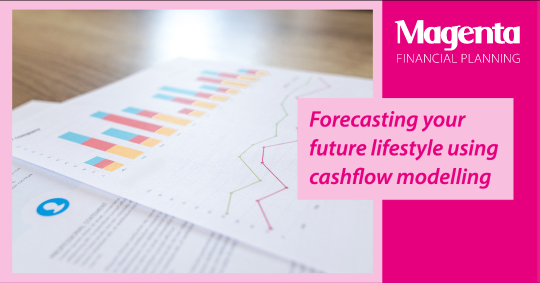 Forecasting your future lifestyle using cashflow modelling