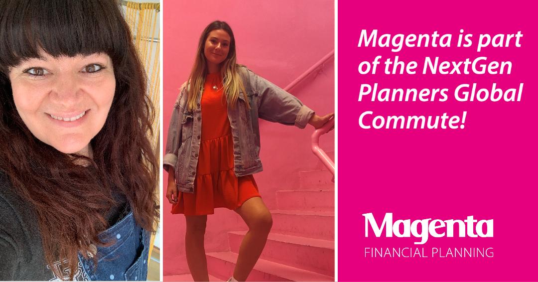 Magenta is part of the NextGen Planners Global Commute!