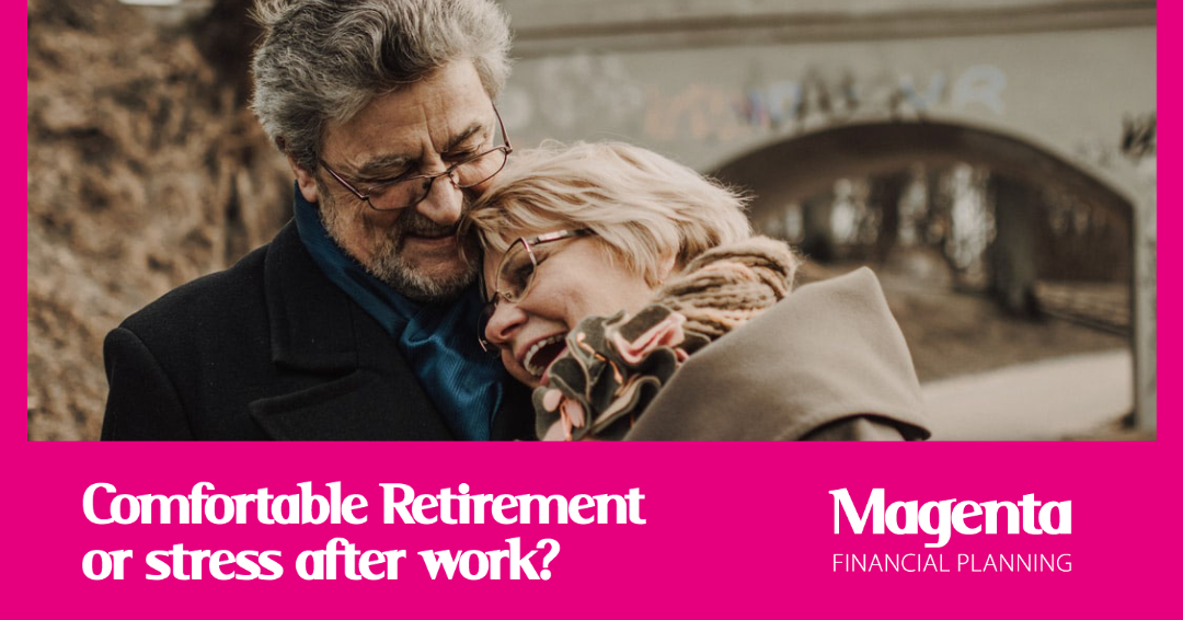 Comfortable retirement or more stress after work?