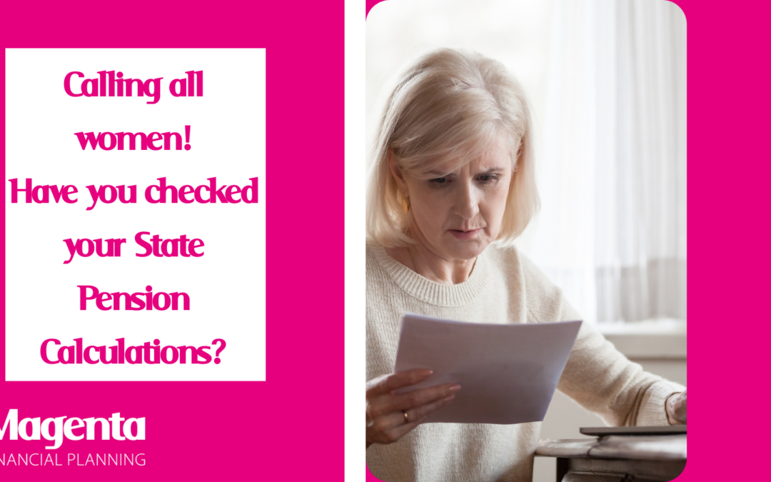Are you affected by miscalculations in your state pension? By Gretchen Betts